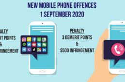 NEW mobile phone penalties from 1 September 2020